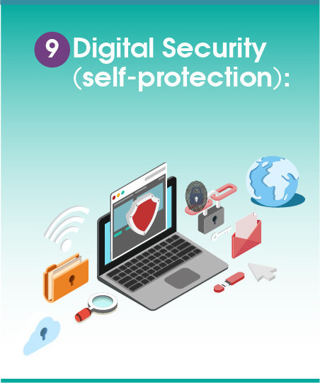 9. Digital Security (self-protection)